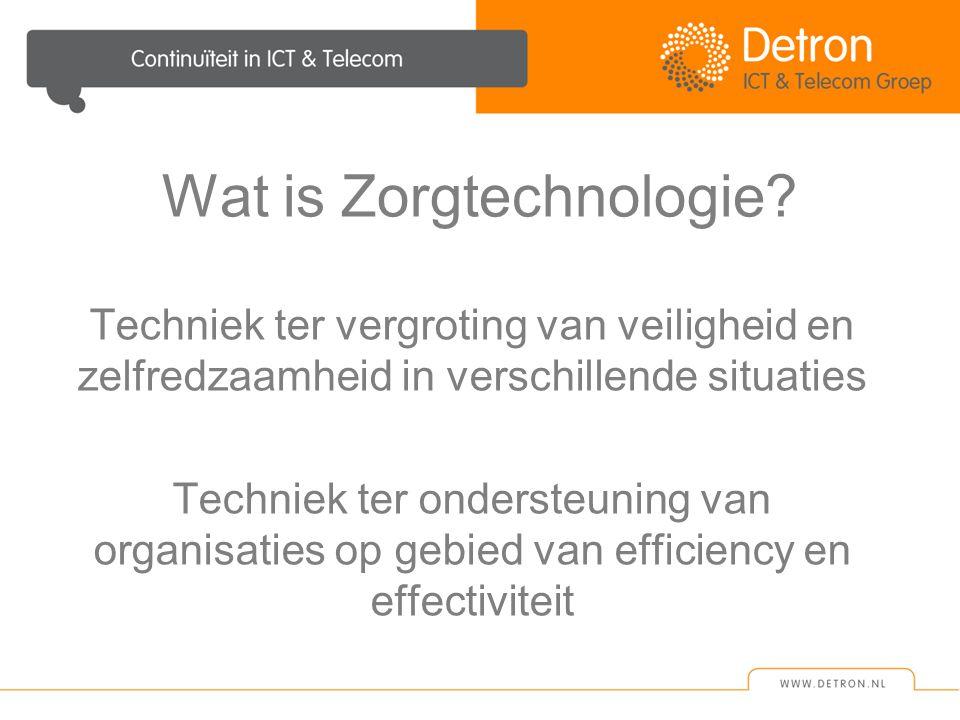 Wat is Zorgtechnologie