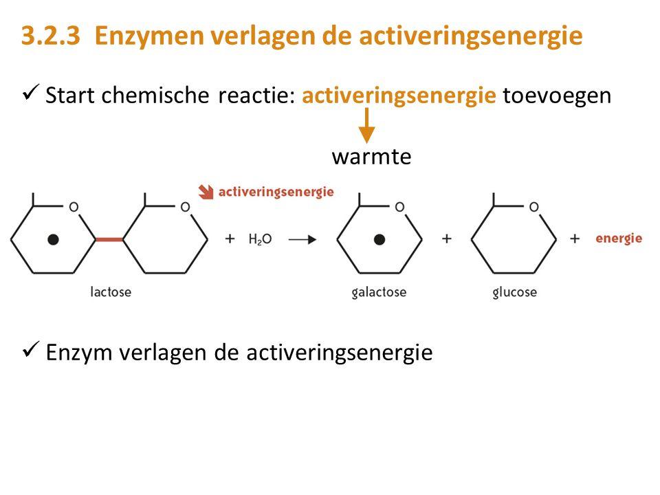 3.2.3 Enzymen verlagen de activeringsenergie