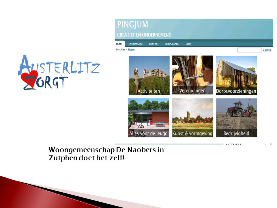 Woongemeenschap De Naobers in Zutphen doet het zelf!
