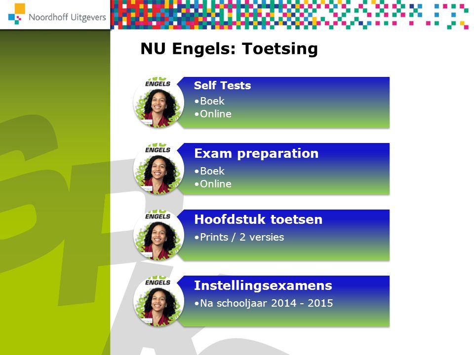 NU Engels: Toetsing Exam preparation Hoofdstuk toetsen