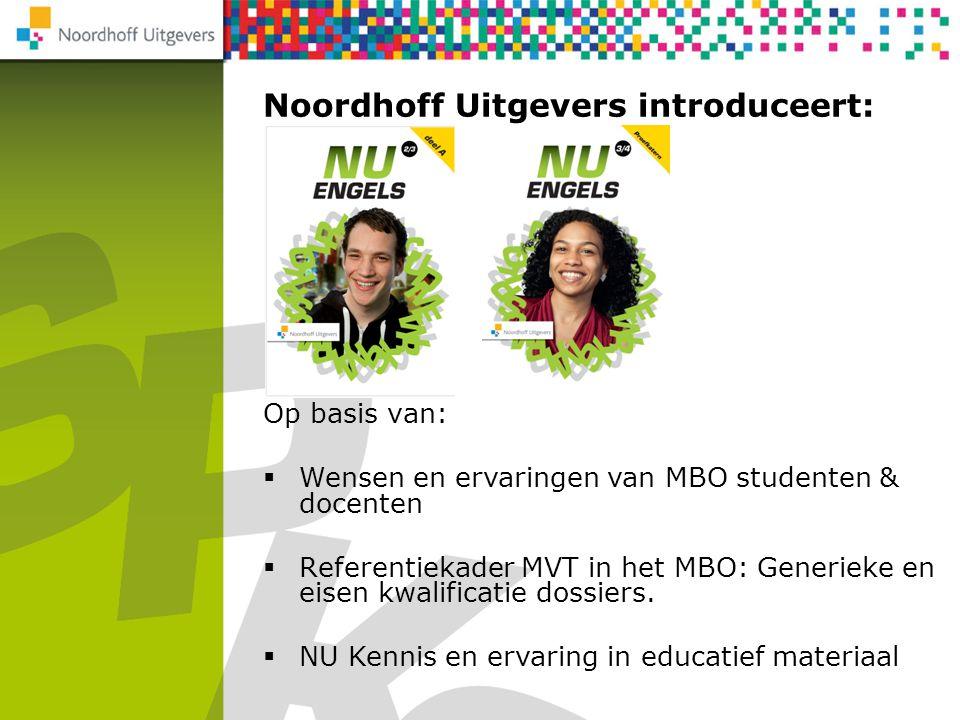 Noordhoff Uitgevers introduceert: NU Rekenen 2F/3F