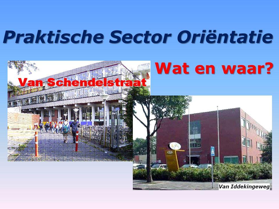 Praktische Sector Oriëntatie