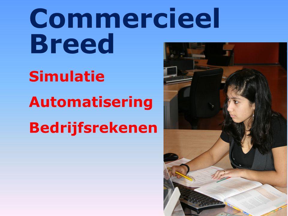 Commercieel Breed Simulatie Automatisering Bedrijfsrekenen