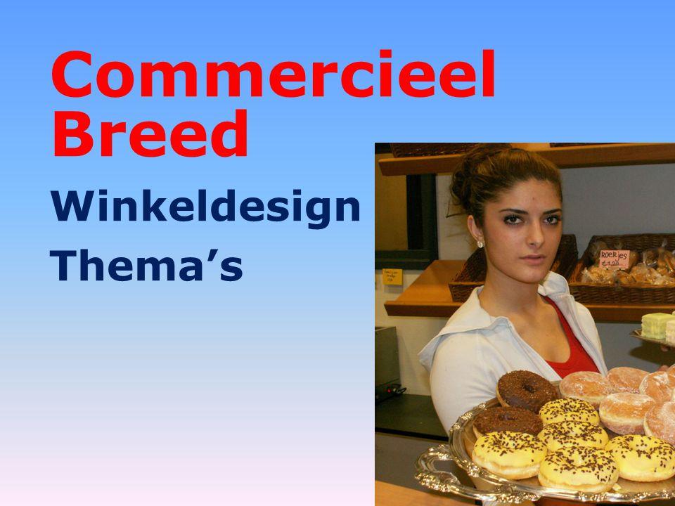 Commercieel Breed Winkeldesign Thema's