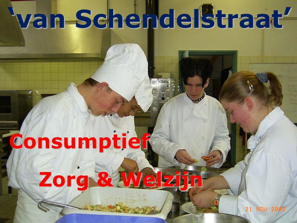 'van Schendelstraat' Consumptief Zorg & Welzijn