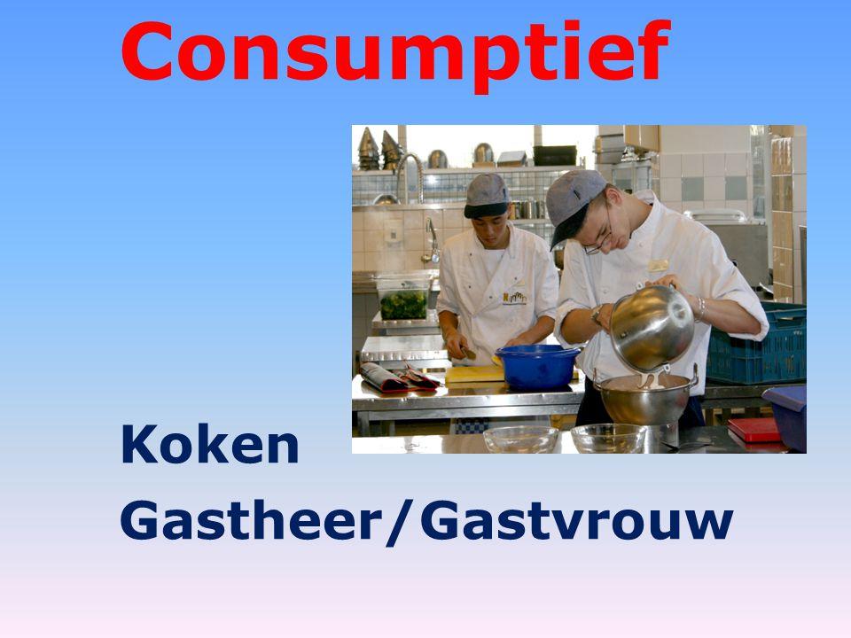 Consumptief Koken Gastheer/Gastvrouw