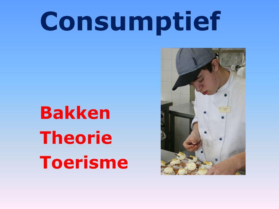 Consumptief Bakken Theorie Toerisme
