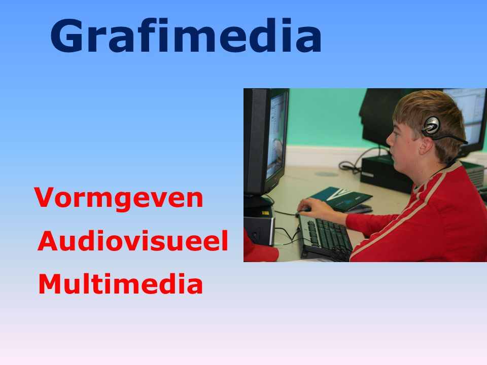 Grafimedia Vormgeven Audiovisueel Multimedia