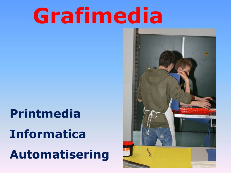 Grafimedia Printmedia Informatica Automatisering