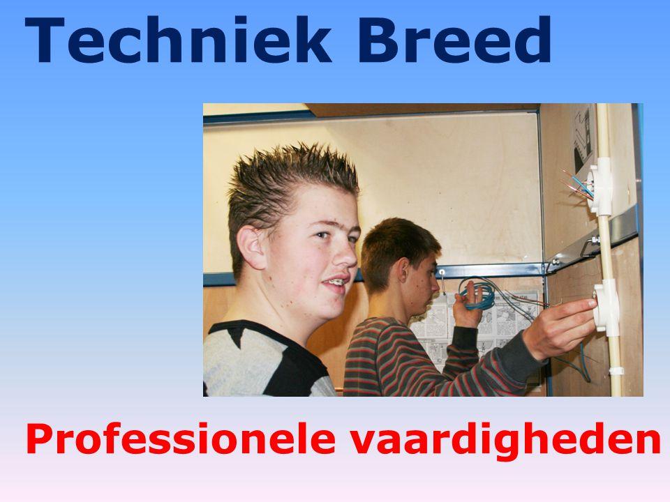 Techniek Breed Professionele vaardigheden