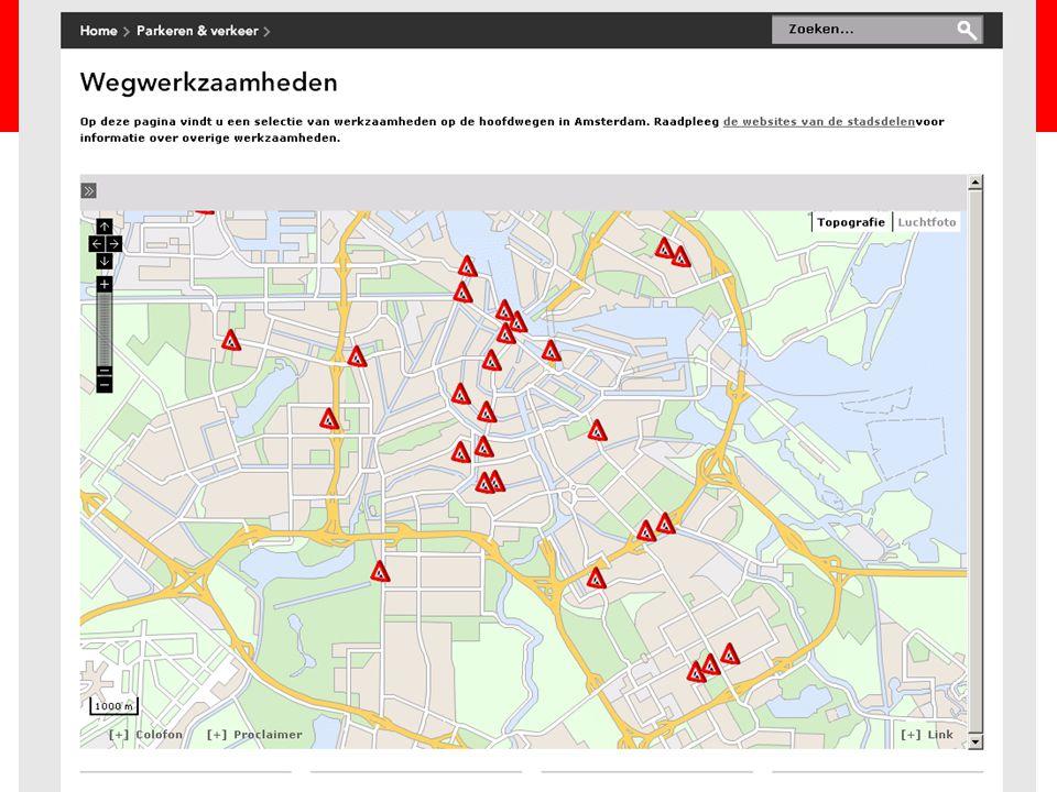 Titel presentatie centrale plek: www.amsterdam.nl/wegwerkzaamheden. maar hier staat een deel van de werken, en alleen op de Hoofdwegen van Amsterdam.