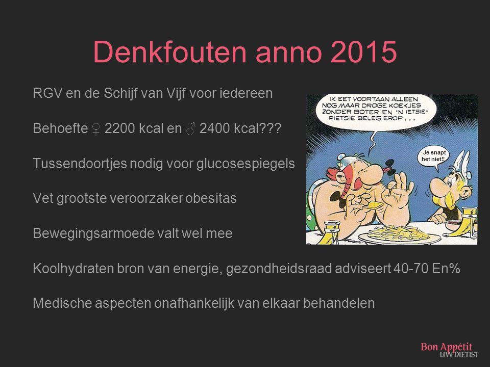 Denkfouten anno 2015 RGV en de Schijf van Vijf voor iedereen