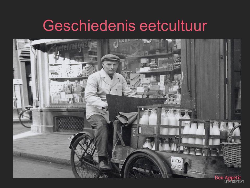 Geschiedenis eetcultuur