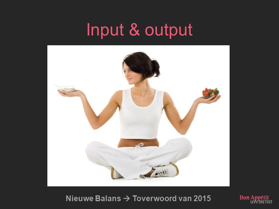 Nieuwe Balans  Toverwoord van 2015
