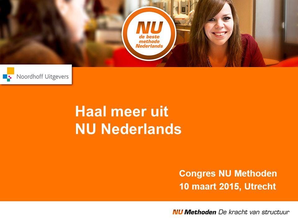 Haal meer uit NU Nederlands
