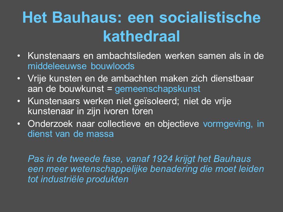 Het Bauhaus: een socialistische kathedraal