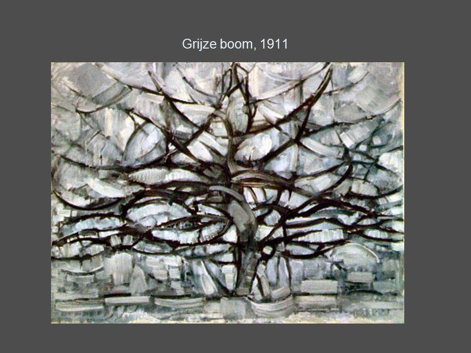 Grijze boom, 1911