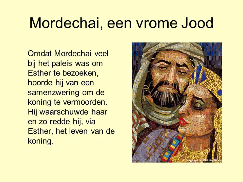 Mordechai, een vrome Jood