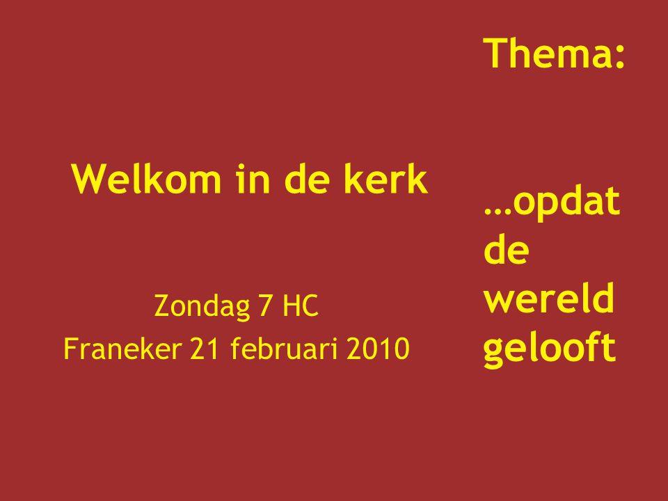 Zondag 7 HC Franeker 21 februari 2010