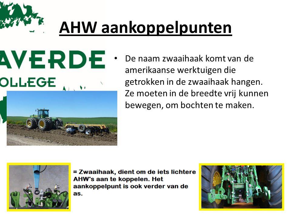 AHW aankoppelpunten