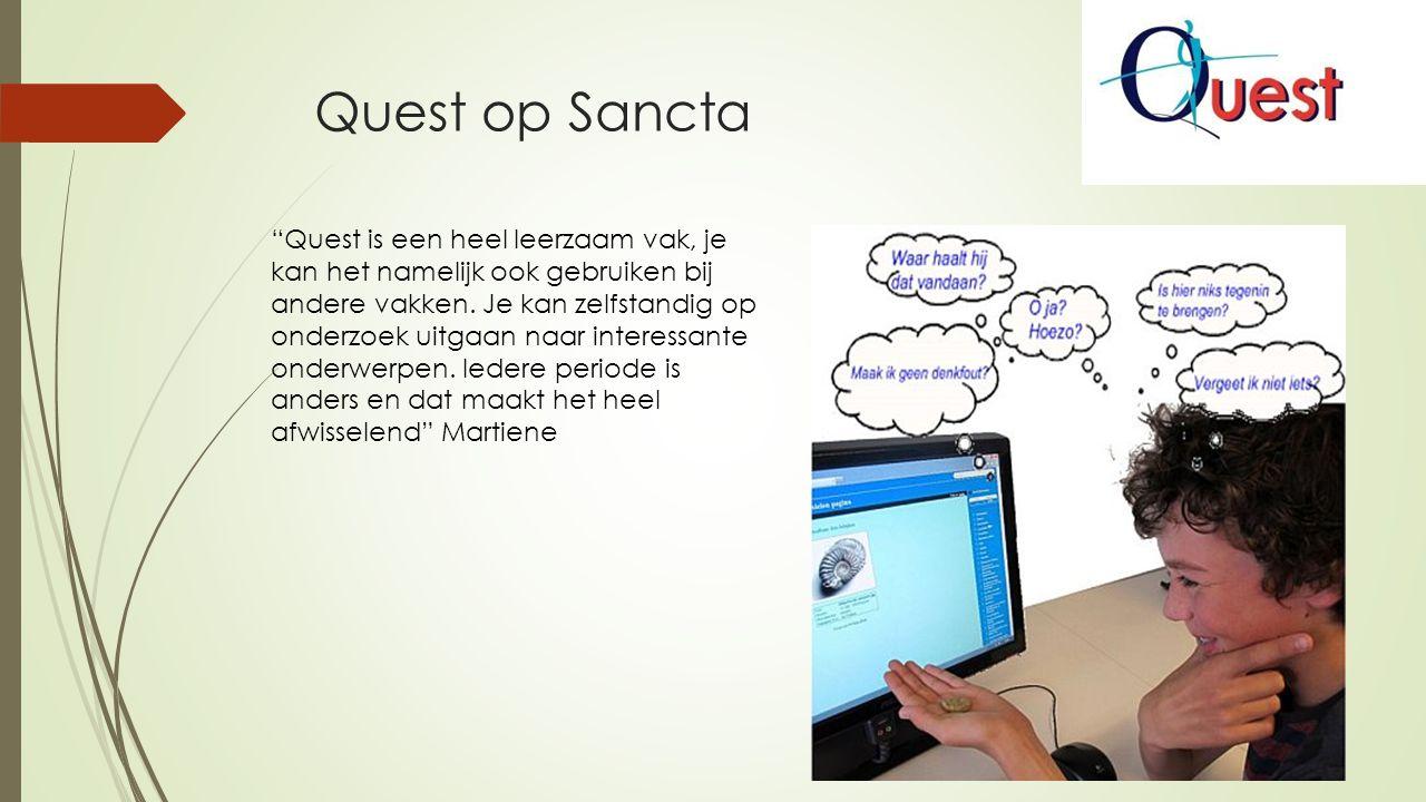 Quest op Sancta