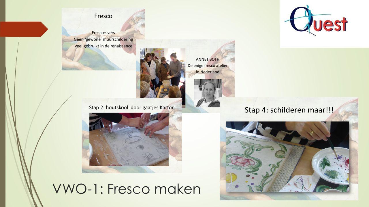 VWO-1: Fresco maken