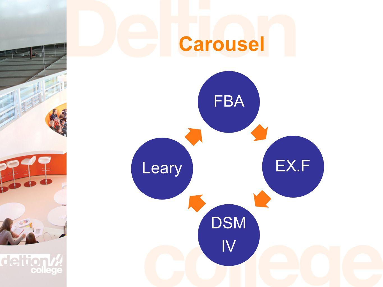 Carousel FBA EX.F DSM IV Leary