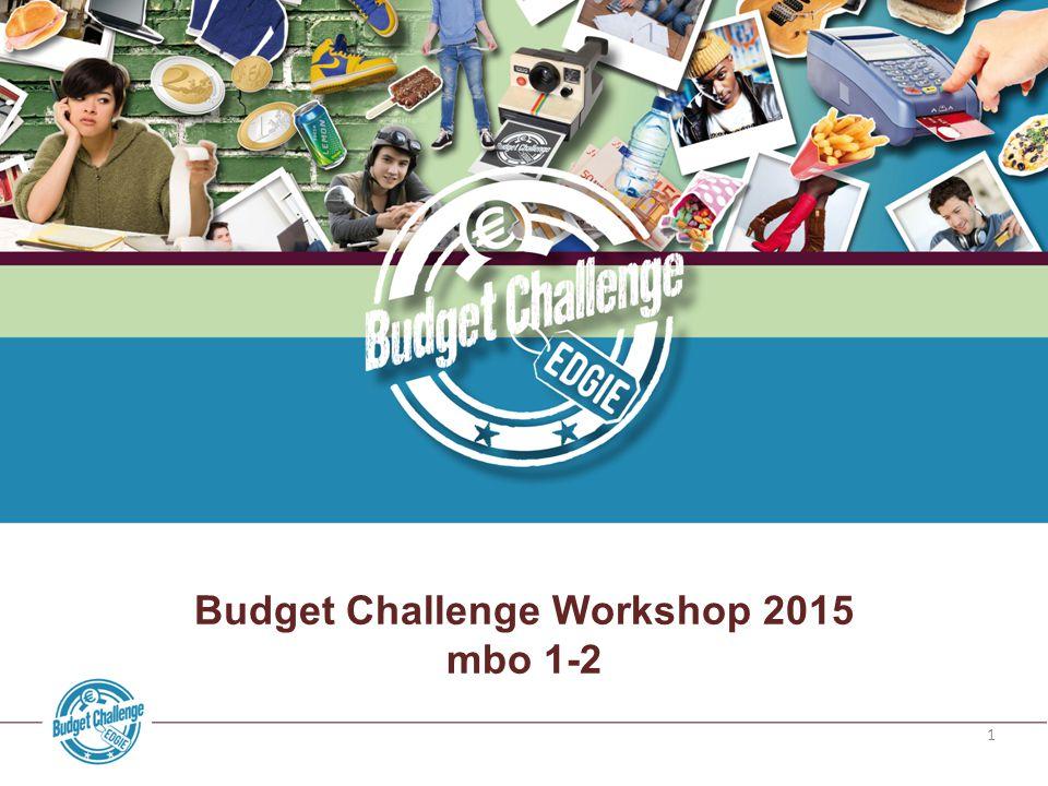 Budget Challenge Workshop 2015
