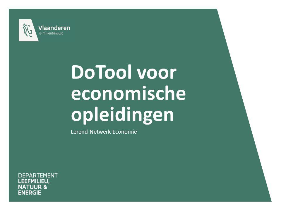 DoTool voor economische opleidingen
