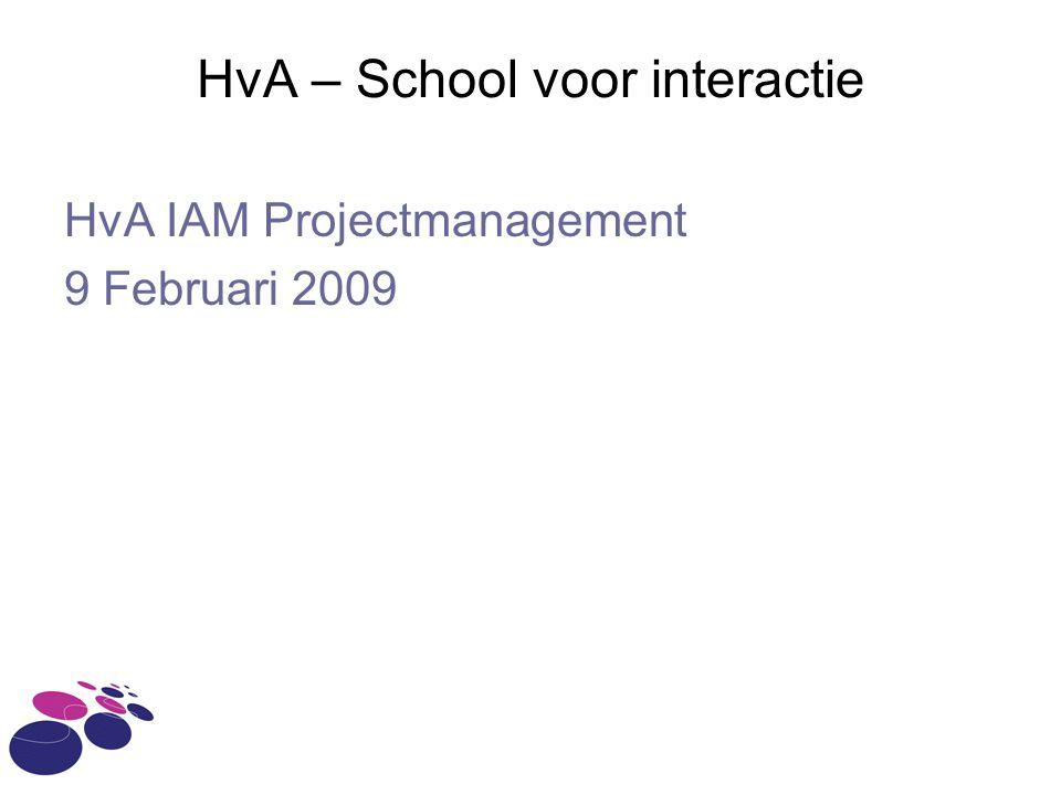 HvA – School voor interactie