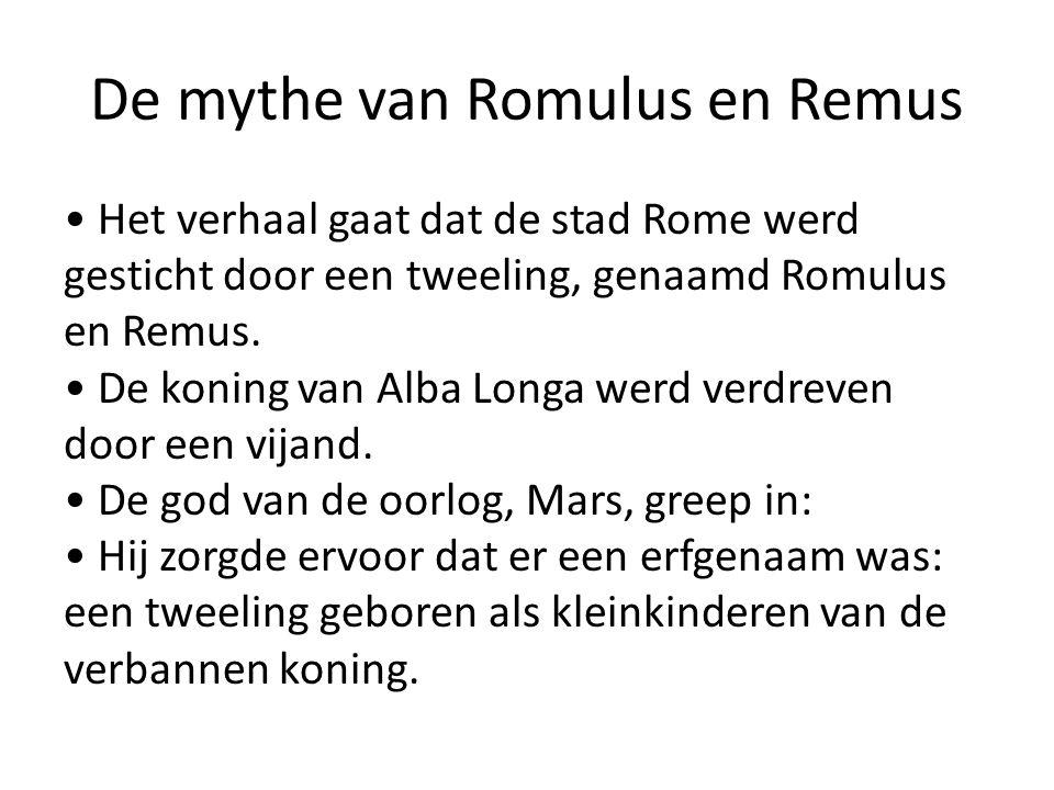 De mythe van Romulus en Remus