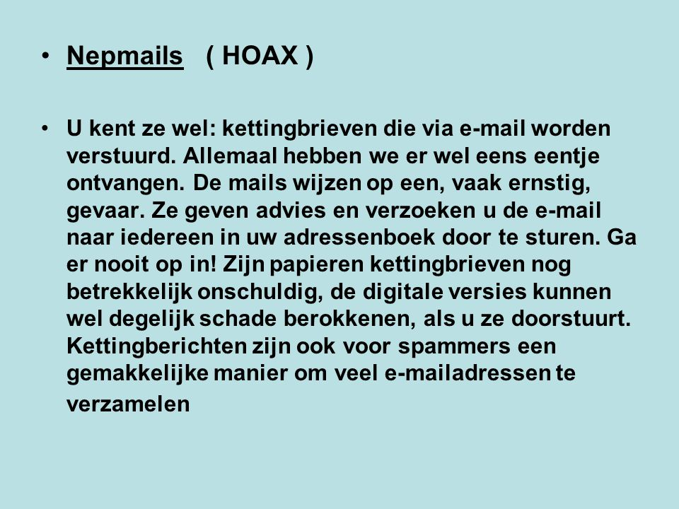 Nepmails ( HOAX )