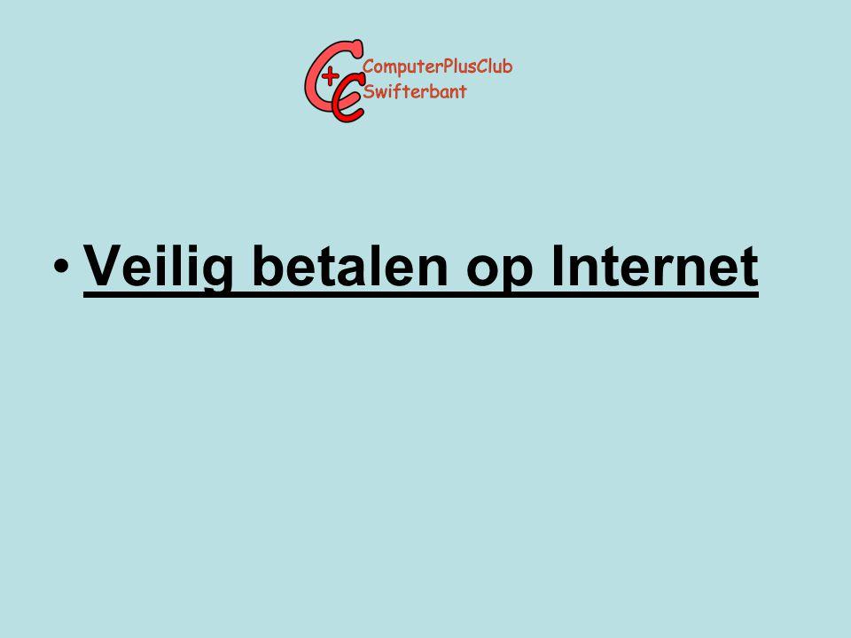 Veilig betalen op Internet