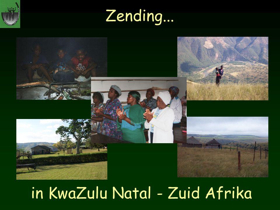 Zending... in KwaZulu Natal - Zuid Afrika