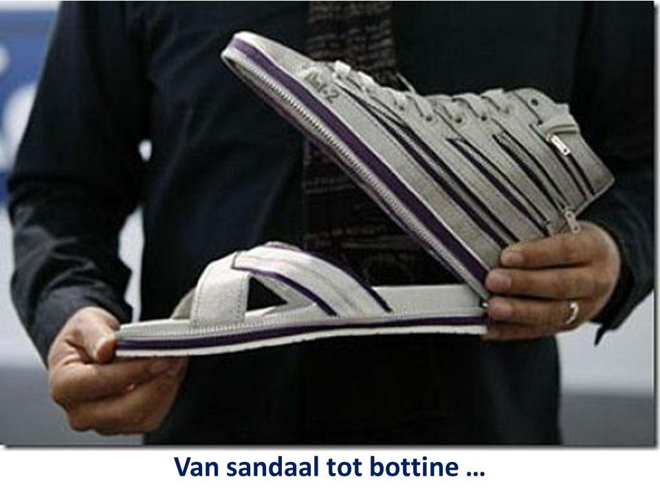 Van sandaal tot bottine …