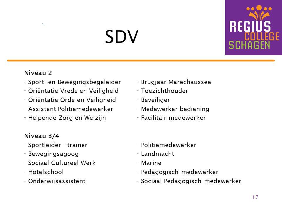 opleiding facilitair medewerker niveau 3