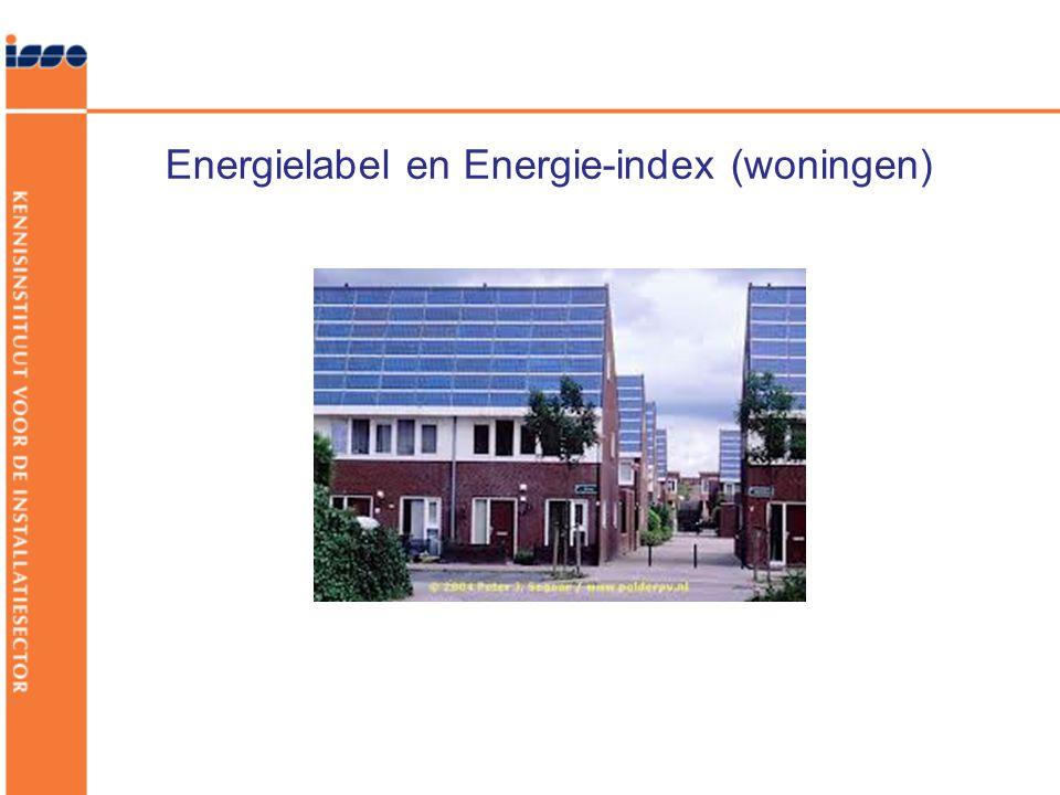 Energielabel en Energie-index (woningen)