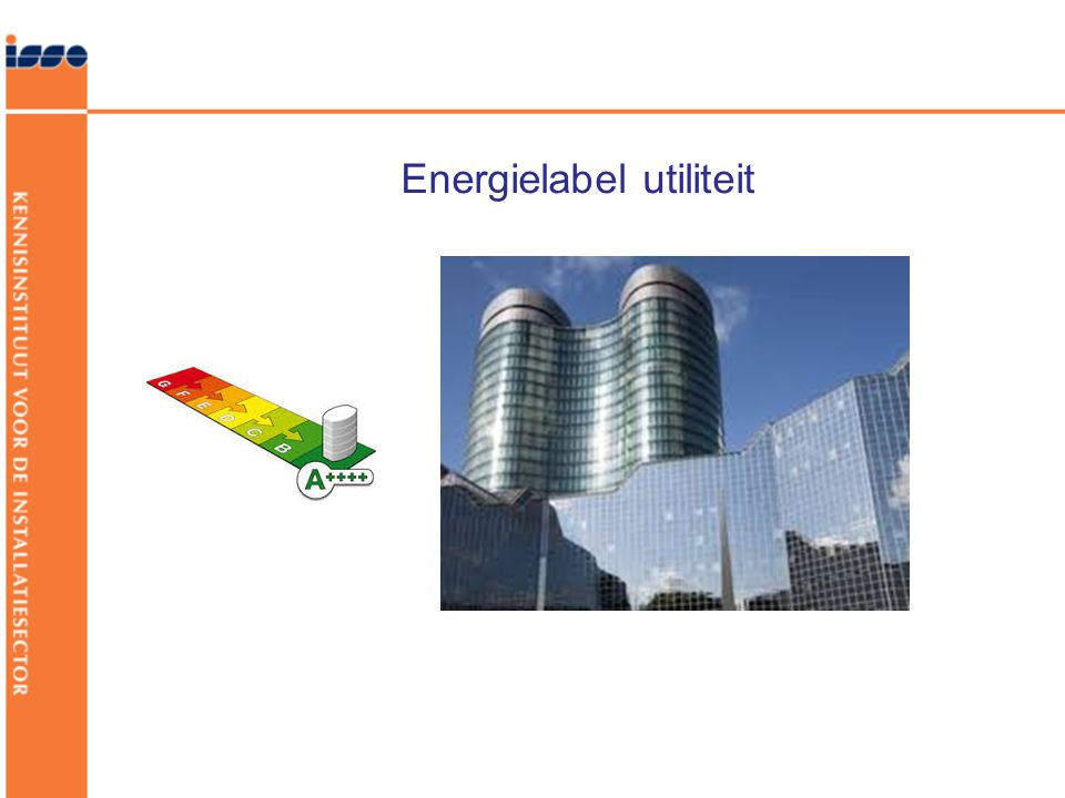 Energielabel utiliteit