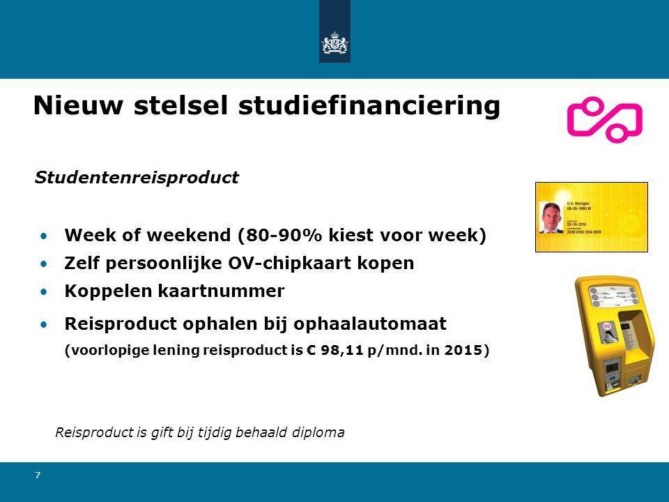 Nieuw stelsel studiefinanciering