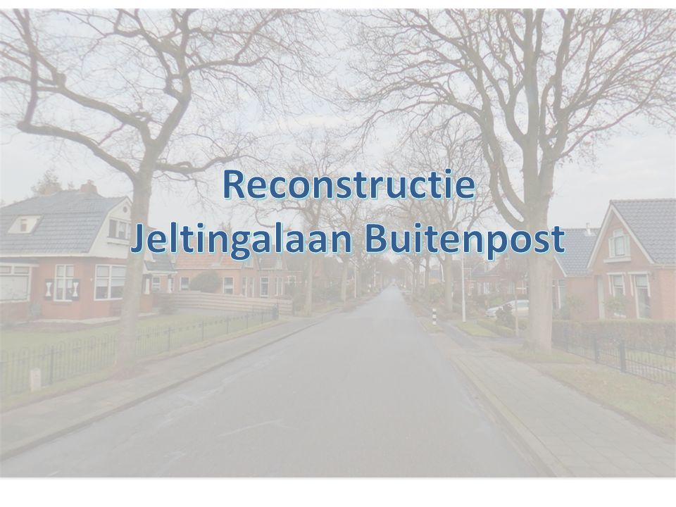 Reconstructie Jeltingalaan Buitenpost