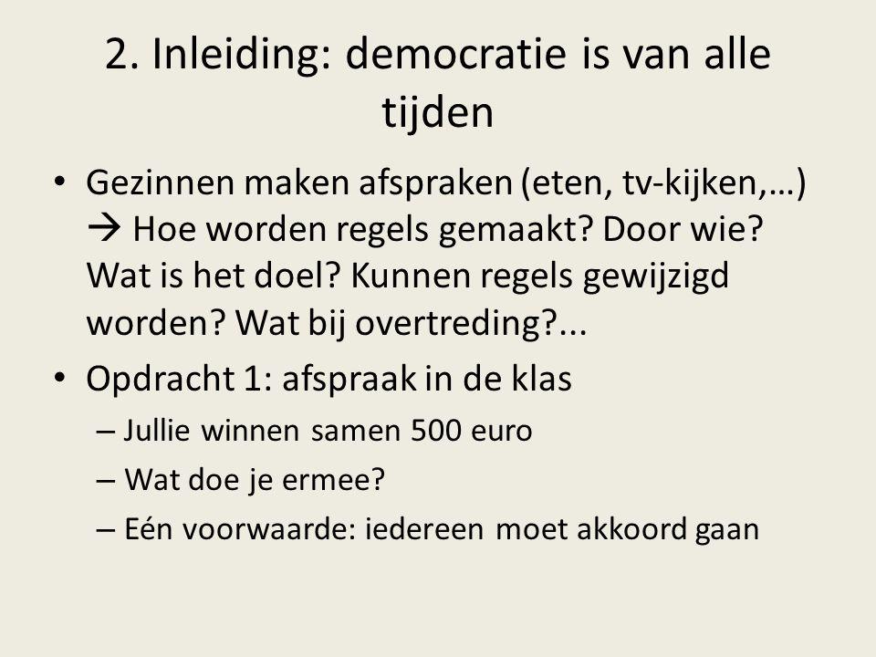 2. Inleiding: democratie is van alle tijden