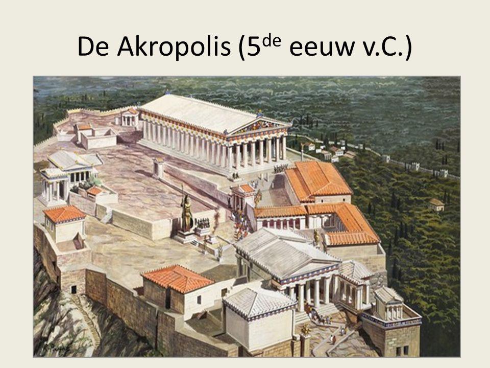 De Akropolis (5de eeuw v.C.)