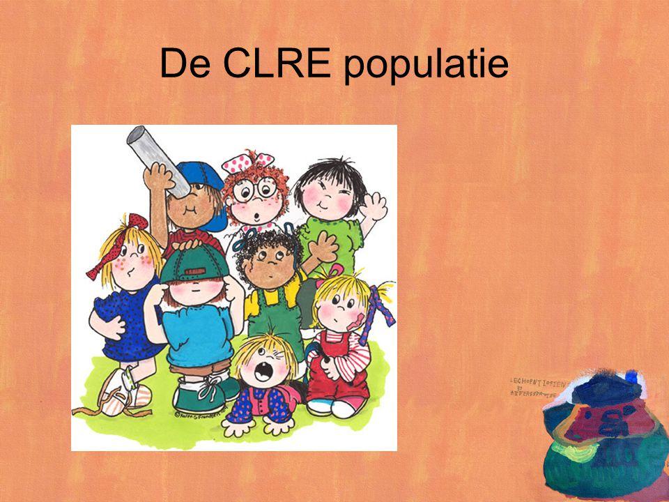 De CLRE populatie