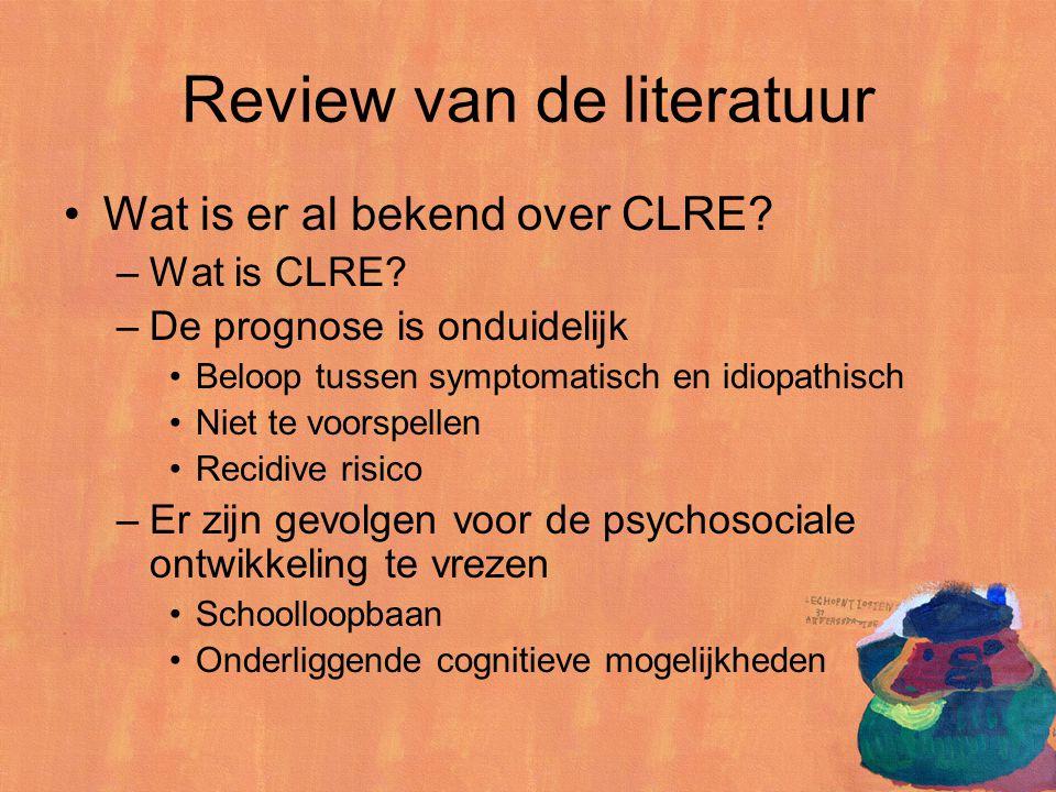 Review van de literatuur