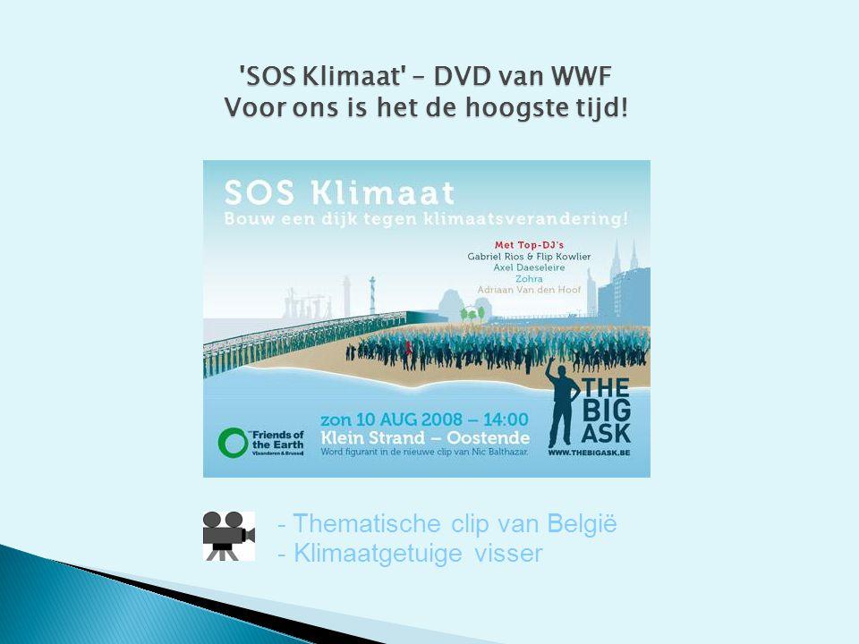 SOS Klimaat – DVD van WWF Voor ons is het de hoogste tijd!