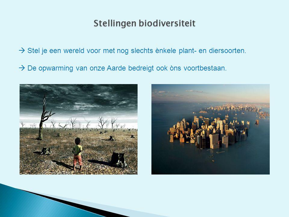 Stellingen biodiversiteit