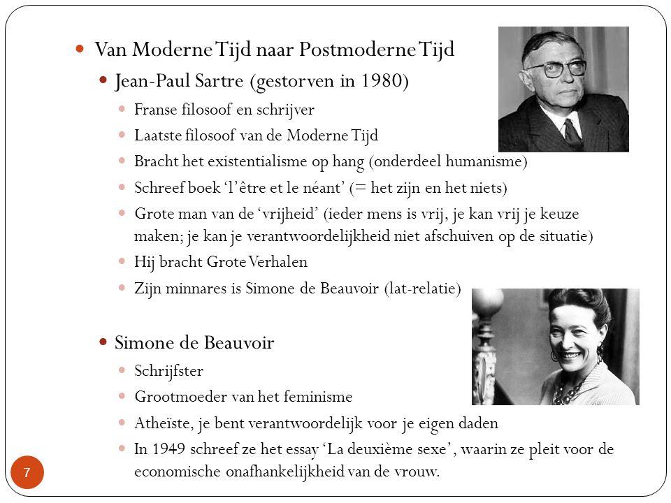 Van Moderne Tijd naar Postmoderne Tijd