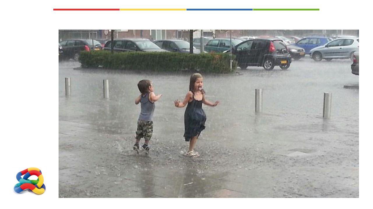 Wat doet u als het regent