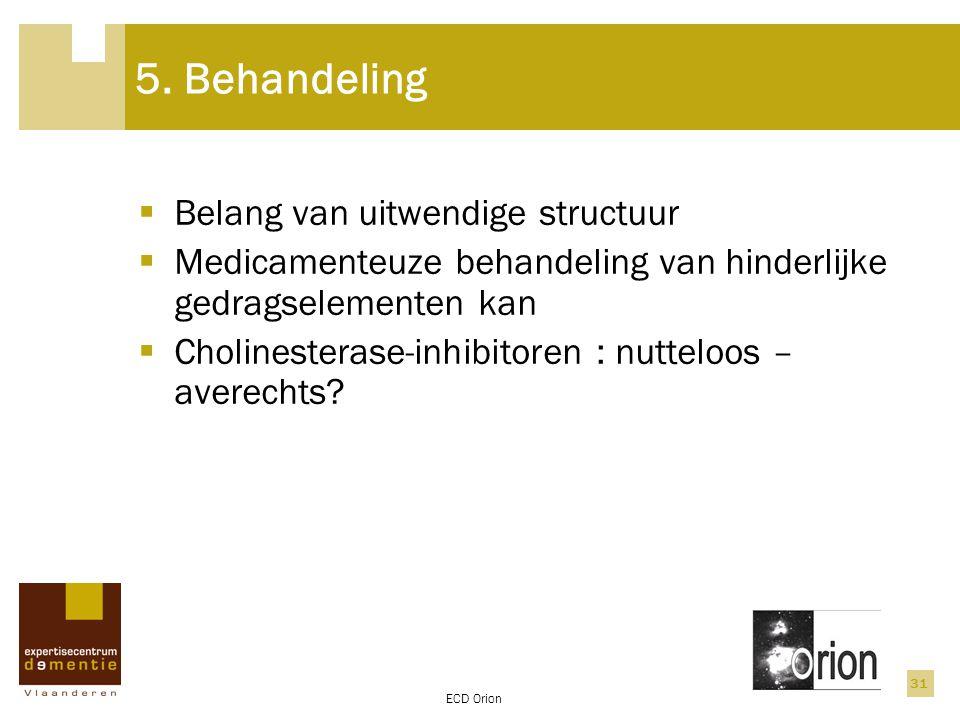 5. Behandeling Belang van uitwendige structuur