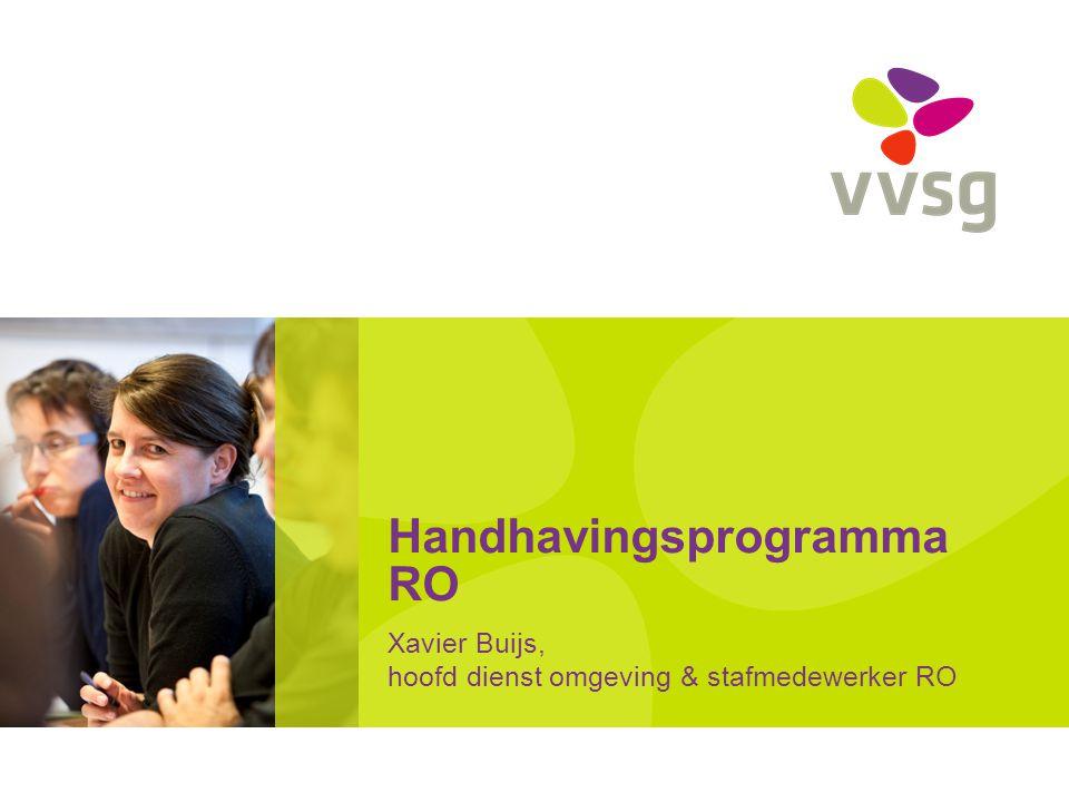 Handhavingsprogramma RO